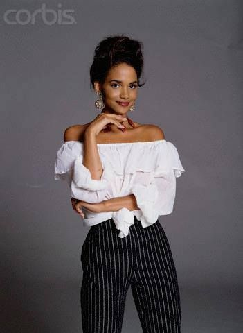 young Halle Berry