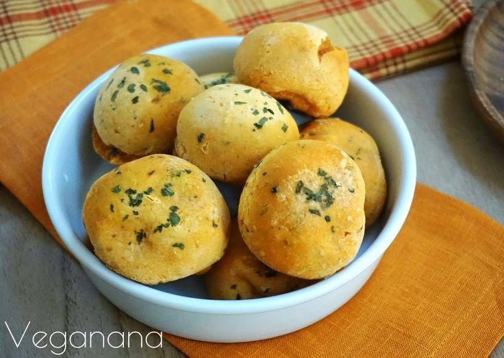 Pãozinho de Batata doce com Polvilho - Veganana