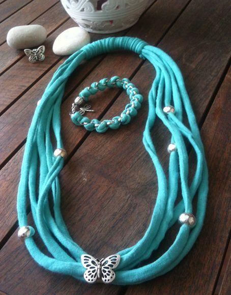 Si os gusta el trapillo, en nuestro taller del día 6 de septiembre en el Mercado de Tapinería, encontrarás muchísimas ideas y posibilidades para trabajar accesorios como collares, pulseras, broches... y mucho más.