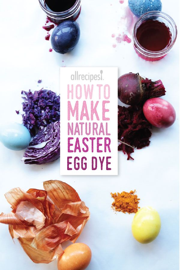If you're turned off by the chemicals in store-bought Easter egg dye, try these six all-natural options.