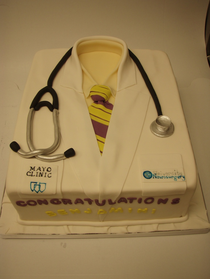Cake Decorating Ideas For Doctors : Doctor cake Baking and Decoration ideas Pinterest