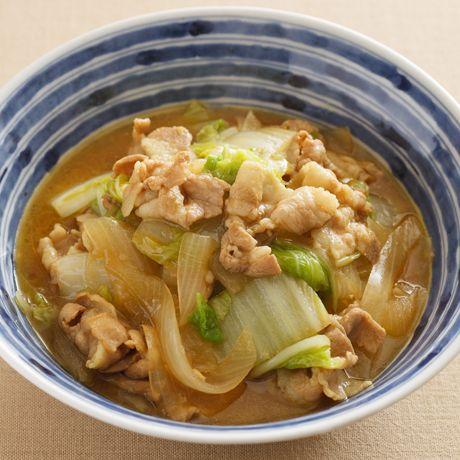 豚肉と白菜の和風カレー煮 | 伊藤朗子さんの煮ものの料理レシピ | プロの簡単料理レシピはレタスクラブニュース