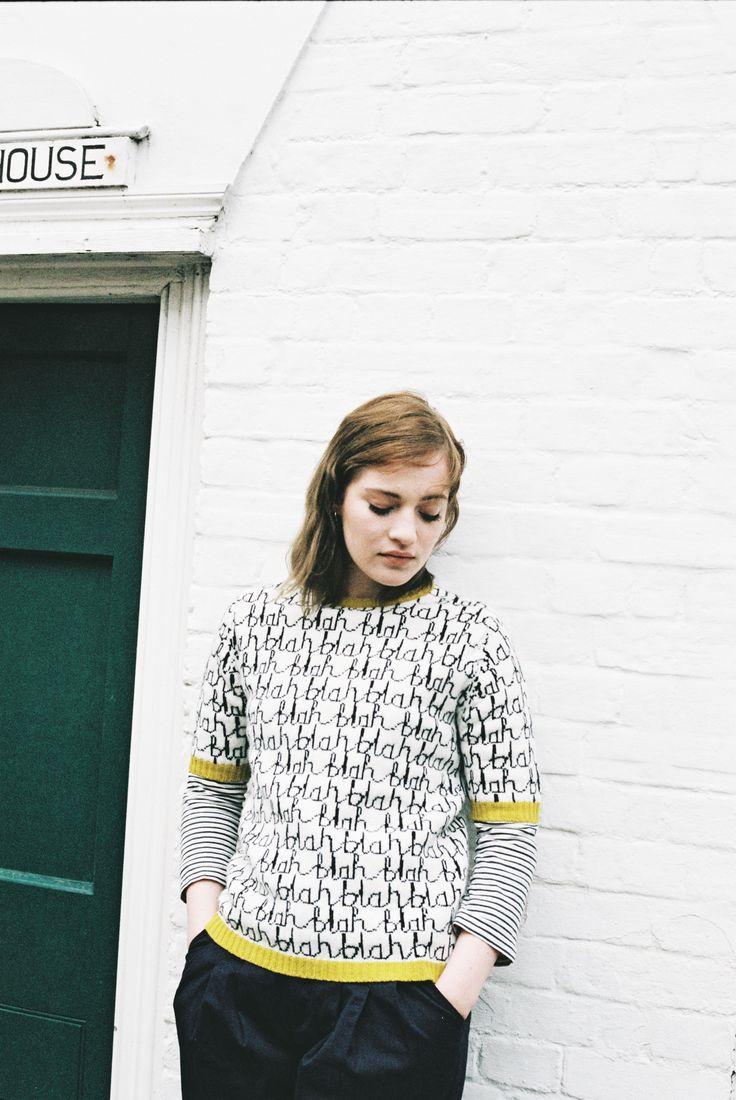 Blah Blah Sweater - Donna Wilson, Whistable