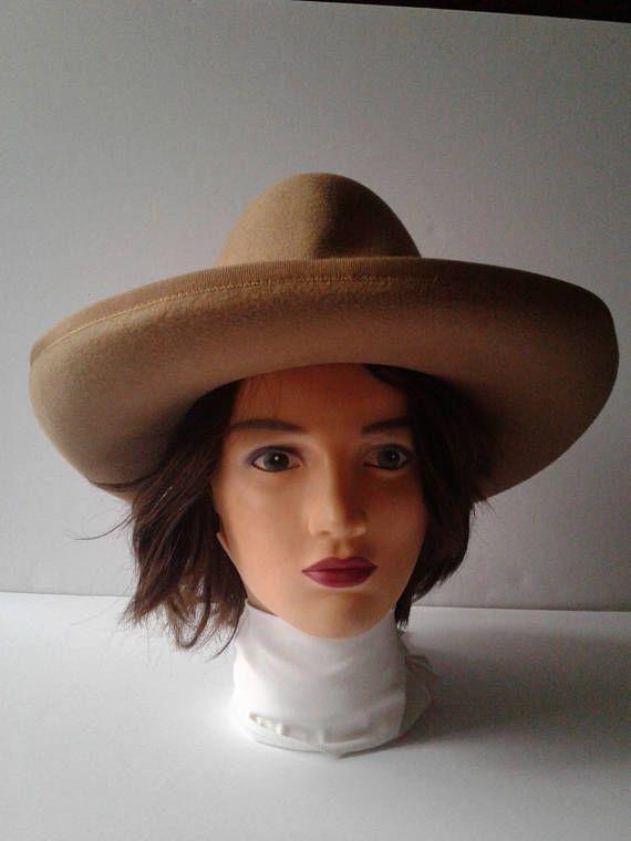 Women's Formal 1960's Hat Styled By NADELLE in