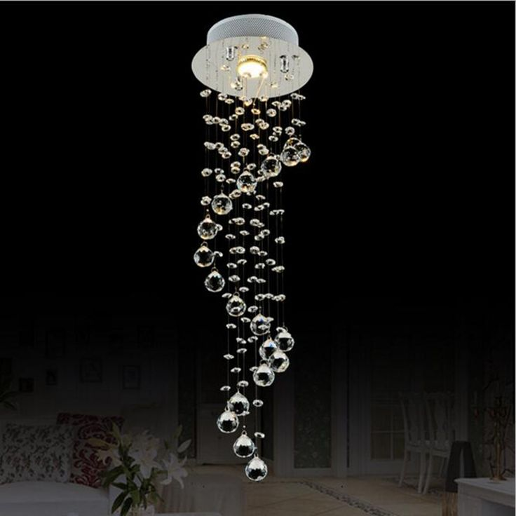 Aliexpress.com : Buy Modern Clear Waterford Spiral Sphere LED Lustre Crystal Chandelier Ceiling Lamp Suspension Pendant Lamp luminaria home lighting from Reliable light suppliers on Shenzhen M-Home Co. Ltd    Alibaba Group  Home Decor Decoration
