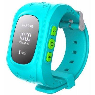 купить Smart Baby W5 GPS Smart Tracking Watch Blue (Q50)