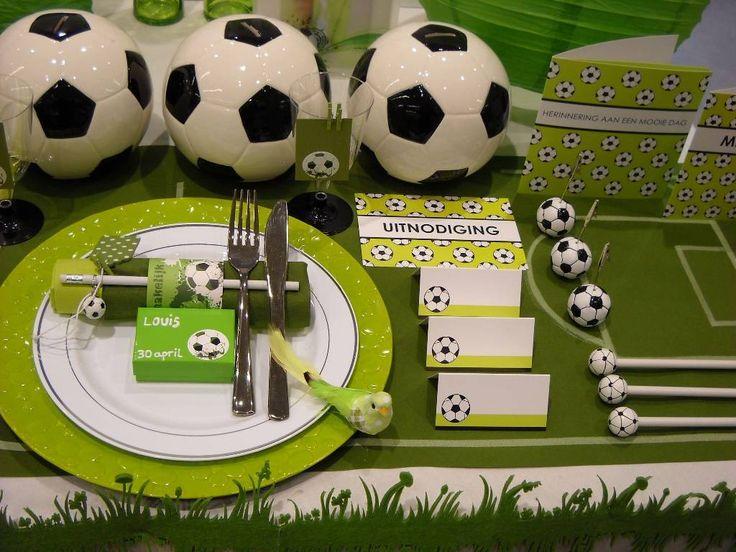 festa di compleanno a tema calcio