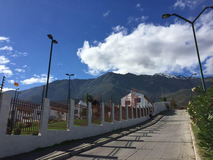 Cordillera de Los Andes Peñalolen, Santiago Chile