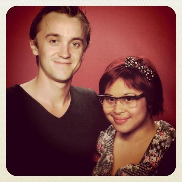 I'm a big fan of Harry Potter. Like seriously, you have no idea! So I was super stoked when I got to meet Tom Felton. I adore him. He is a great actor and who couldn't love Draco Malfoy? I hope he comes back to Australia again soon, and I hope his career is long and successful!  #TomFelton #DracoMalfoy #Malfoy #HarryPotter #Slytherin #books #geekery #fantasy #magic