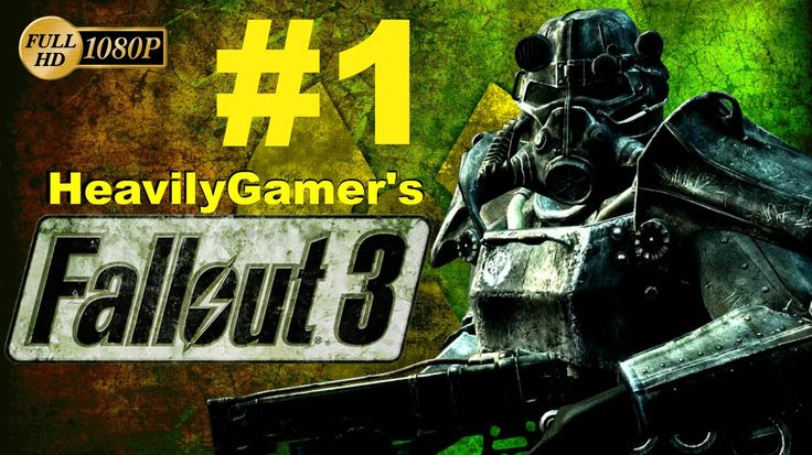 Fallout 3 PC Gameplay Walkthrough Part 1:Caracter Creation - Build/The P...