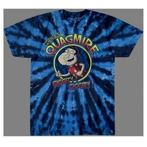 Who else but Quagmire? The Family Guy Quagmire Graphic T-Shirt pictures favorite Griffin family neighbor Glenn Quagmire with his signature phrase. Pair it with jeans and sneakers for a low-key look, or wear it under a floral Hawaiian shirt to really captu https://www.fanprint.com/stores/sunny-in-philadel?ref=5750