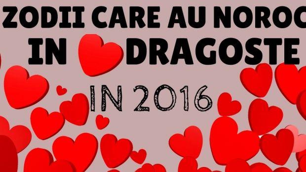 Ce zodii au noroc în dragoste în 2016
