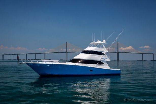 2010 Viking Yacht 82' Sky Bridge Convertible. The Ultimate Sport Fishing Yacht.