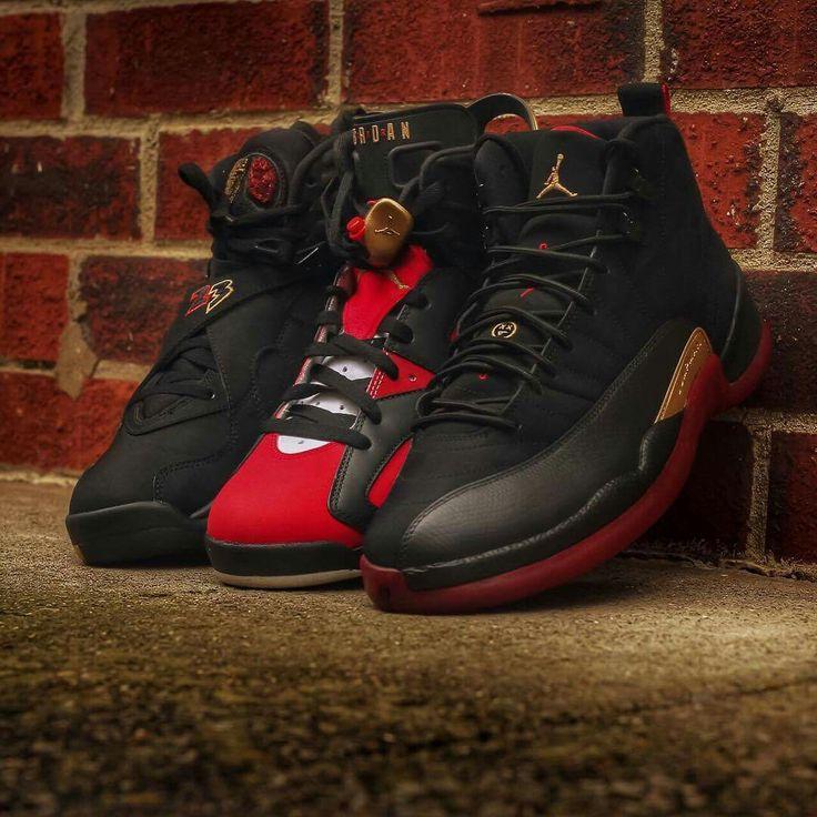 @proulxjustice #sneakerhead  #jays #jordans #retro