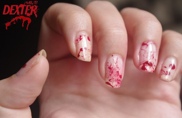 Nail it! in English: DIY: Dexter for Halloween