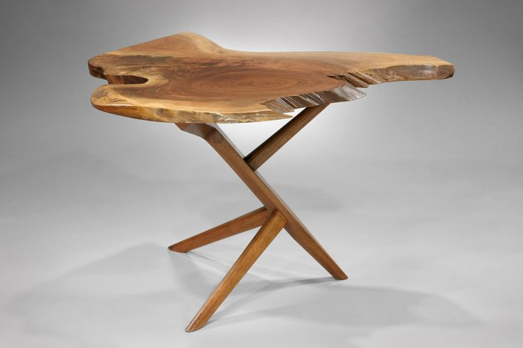 George Nakashima-  innovator of 20th century furniture design and a father of the American craft movement