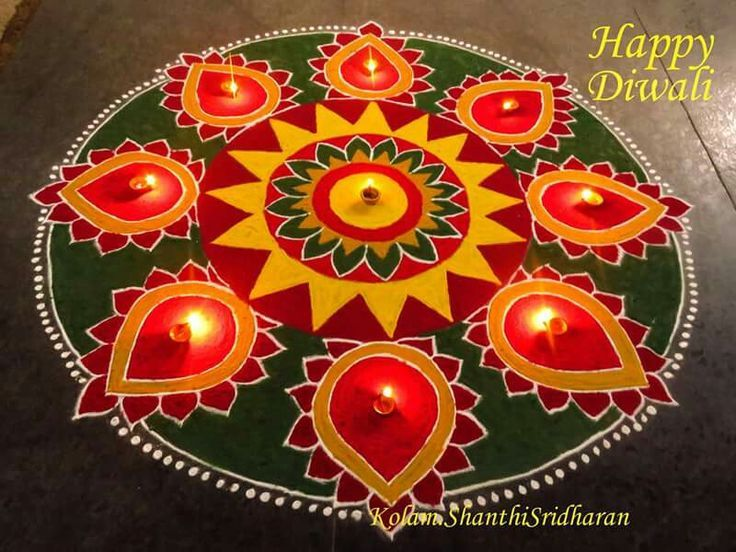67 best images about rangoli on pinterest for Home made rangoli designs