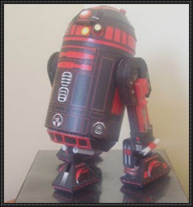 Star Wars - R2-VD Droid Free Papercraft Download - http://www.papercraftsquare.com/star-wars-r2-vd-droid-free-papercraft-download.html