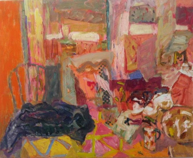 """Elisabeth Cummings: """"Studio Still Life"""", 2013."""