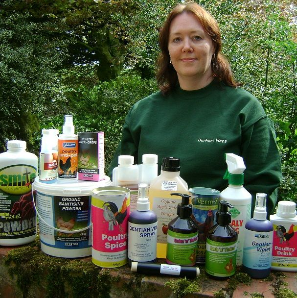 We offered all these poultry health care items as a prize in Your Chickens magazine!