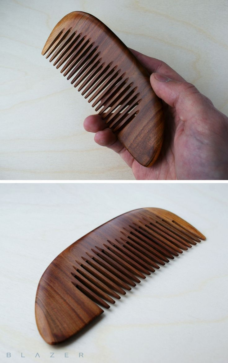 Mothers Day Gift Ideas Wooden Comb Made From Exotic Wood Anti