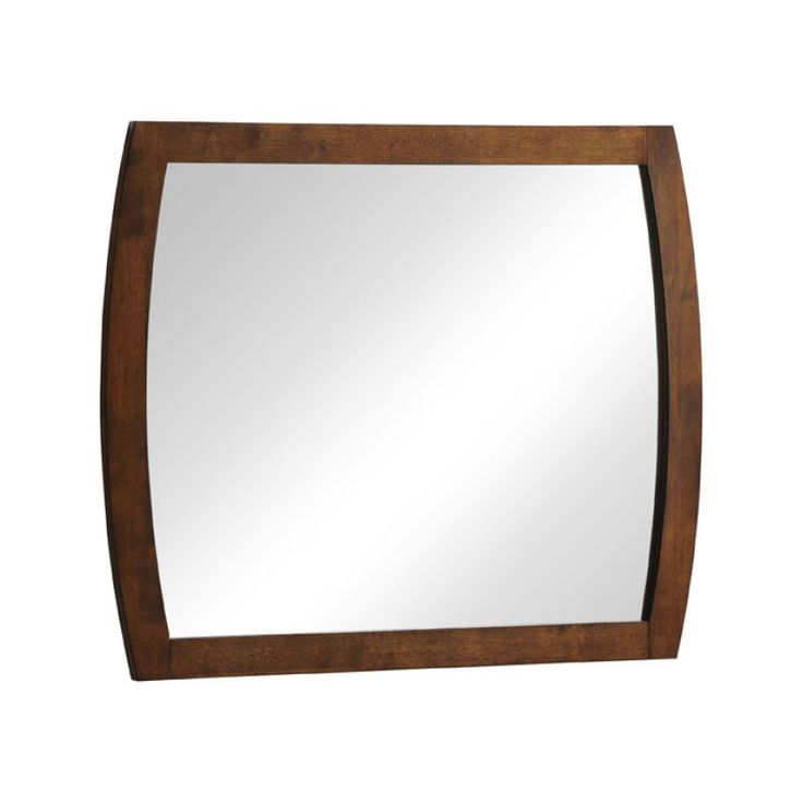 Cleverly curved sides give this sleek mirror a style of its own. Its rubberwood frame is the perfect way to dress up your walls in chic simplicity.  Find the Quadra Mirror, as seen in the Bleached Mid-Century Collection at http://dotandbo.com/collections/bleached-mid-century?utm_source=pinterest&utm_medium=organic&db_sku=104395
