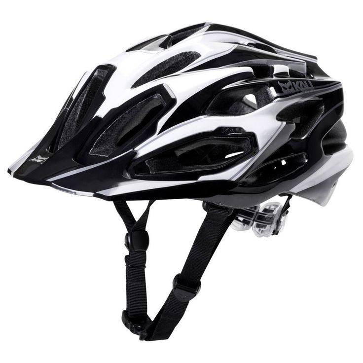 Kali Protectives Maraka XC Helmet Medium/Large Black/White