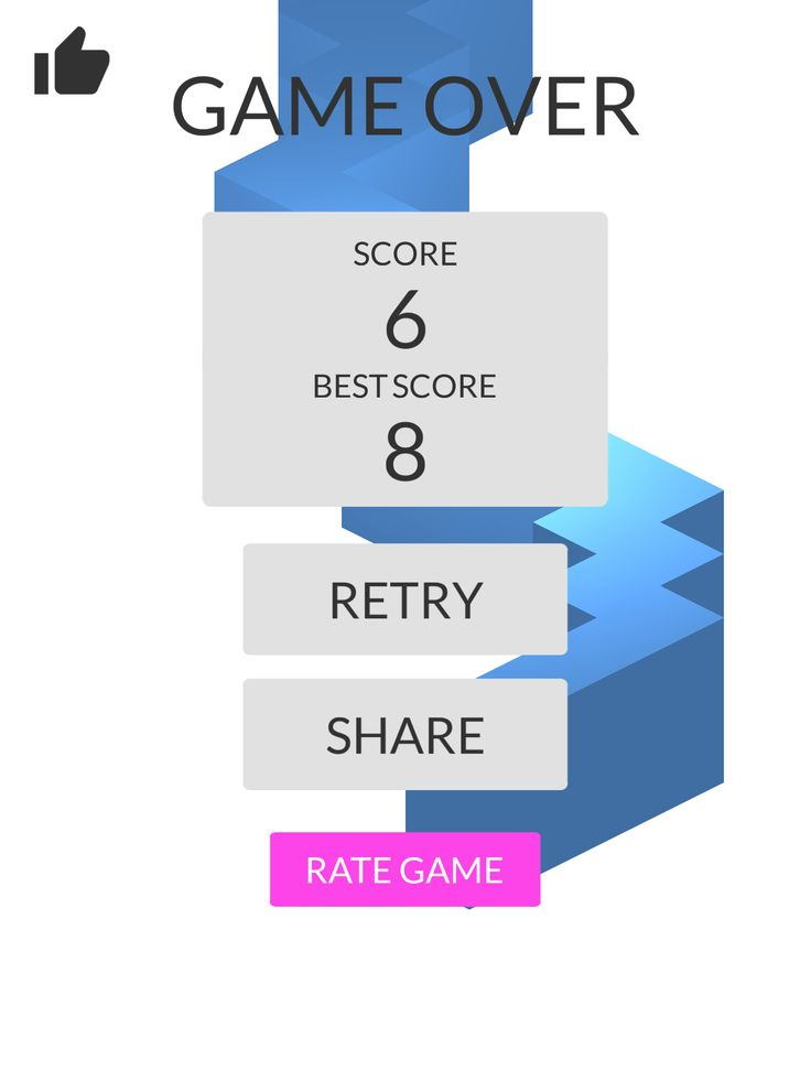OMG!Imade 6 zigzags playing #ZigZag https://itunes.apple.com/app/id951364656
