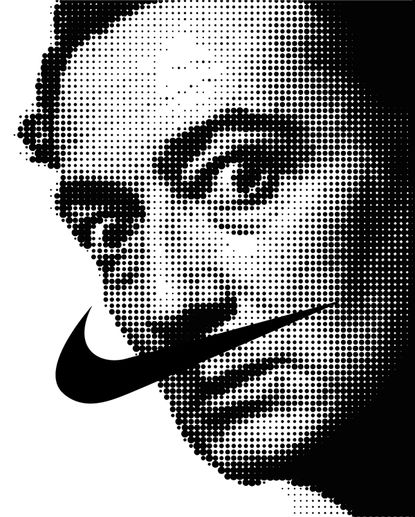 black and white, graphic design, illustration, poster