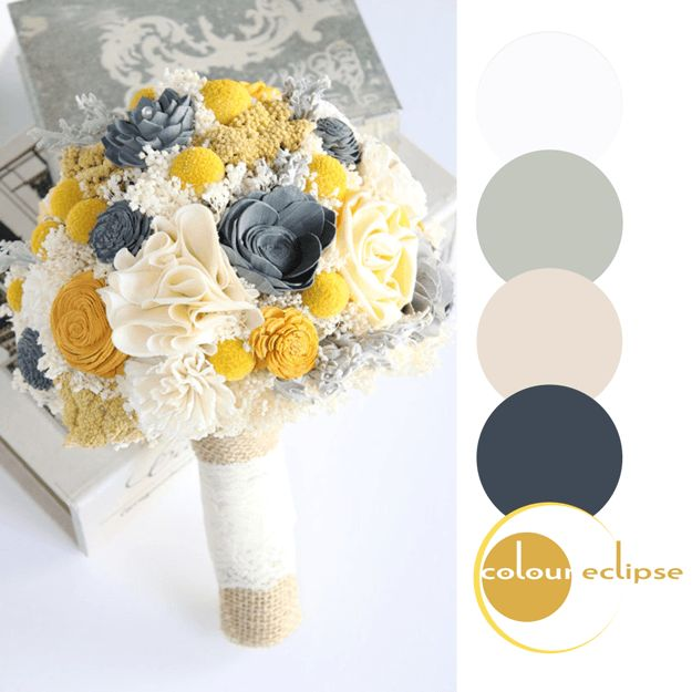 Great PROMISING FUTURE. Dark Grey WeddingsYellow WeddingsWedding Color PalettesWedding  ...