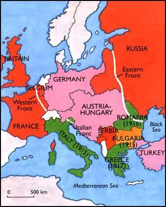 Triple Entente contained Russia, France, and Brtitian and was an alliance during the beginning of WW1. Unfortunately Russia had to leave to fight their own civil war,but this gave Italy and America to join this alliance.