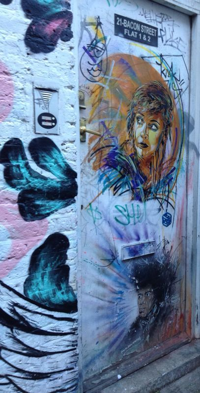 """Another French man """"C215"""" elevates and celebrates the forgotten."""