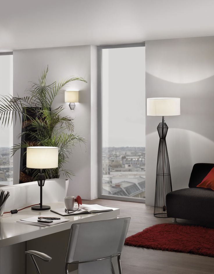 EGLO Valseno Family with wall lamp 94002, table lamp 93987 and floor lamp 93976 #trend #led #new