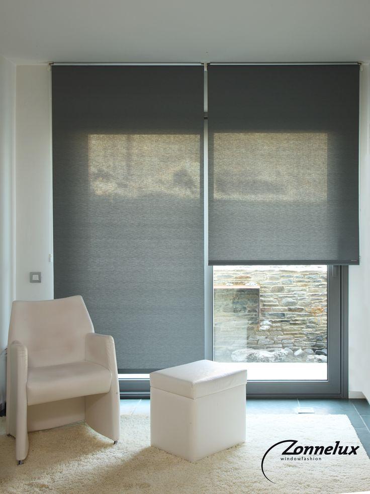 Transparante Rolgordijnen Van Zonnelux Raamdecoratie