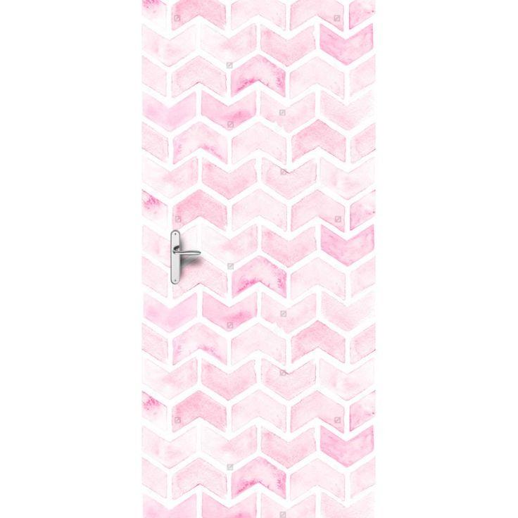 Deursticker Pink tire | Een deursticker is precies wat zo'n saaie deur nodig heeft! YouPri biedt deurstickers zowel mat als glanzend aan en ze zijn allemaal weerbestendig! Verkrijgbaar in verschillende afmetingen.   #deurstickers #deursticker #sticker #stickers #interieur #interieurprint #interieurdesign #foto #afbeelding #design #diy #weerbestendig #baby #babykamer #roze #meidenkamer #meisjeskamer #meisje #stoer