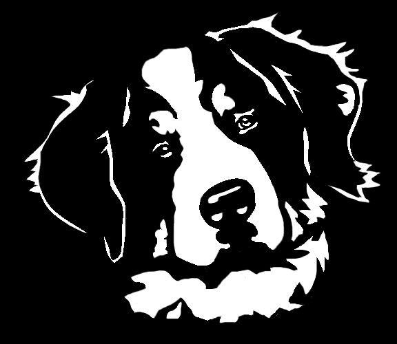 Bernese Mountain Dog Pattern Graphics Code | Bernese Mountain Dog ...