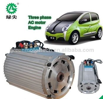 10KW 72V Electric car wheel motor