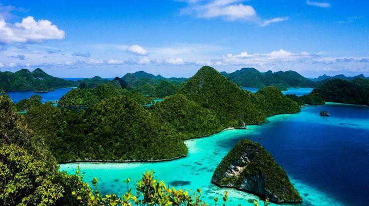 Rajat ampat est une île de Papouasie occidentale
