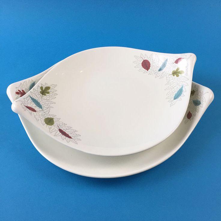 Eva Zeisel Century Hallcraft Fern Platter Set Hall China & 25 best Eva Zeisel Mid Century Modern Ceramics Pottery images on ...