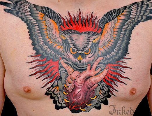 106 best owl tattoo images on Pinterest | Owl tattoos ...