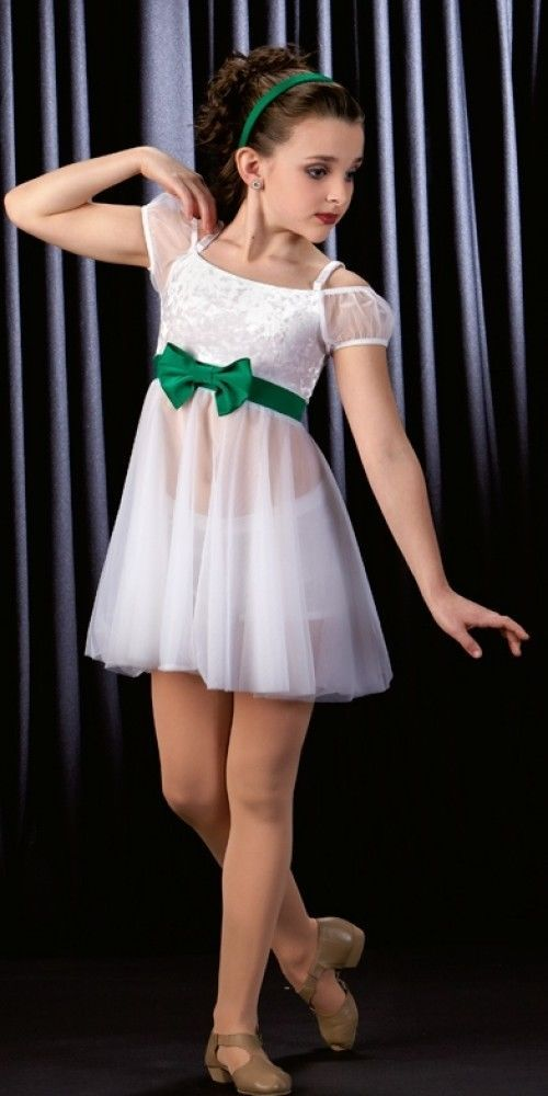Dance moms white dresses