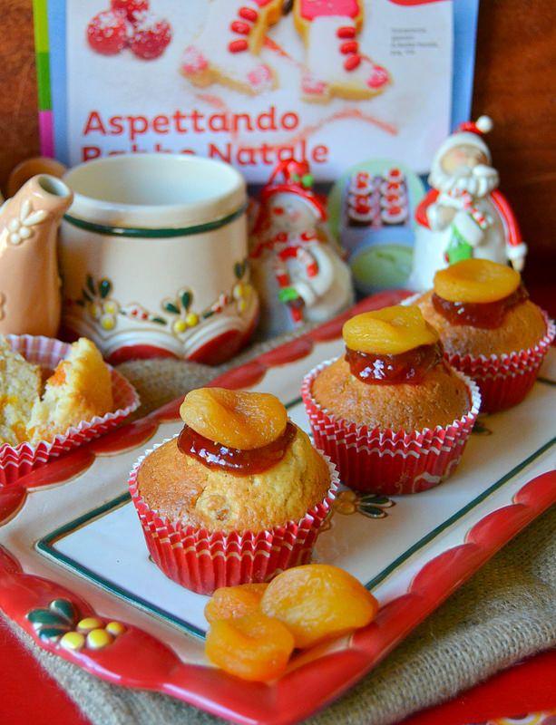 Dolci A Go Go Muffins Di Natale Con Albicocche Secche E