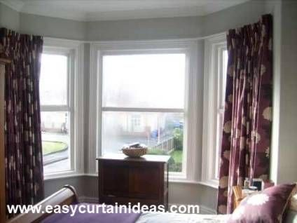What Are The Right Curved Curtain Rods For Your Bay Window Treatment ? That  All Depends On The Kind Of Bay Window Treatment Ideas You Have In Mind.