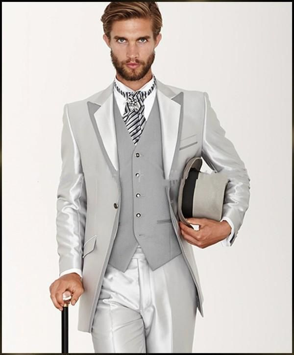 Details About 2016 New Mens Wedding Suits Groom Tuxedos