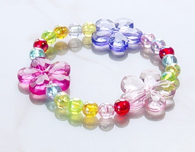 Fashion Acrylic Bracelets, Kids Jewelry