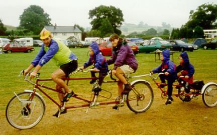 Image result for tag along bike