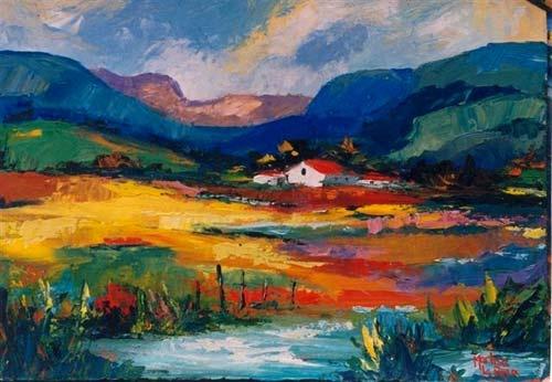 Landscape by Marlise le Roux