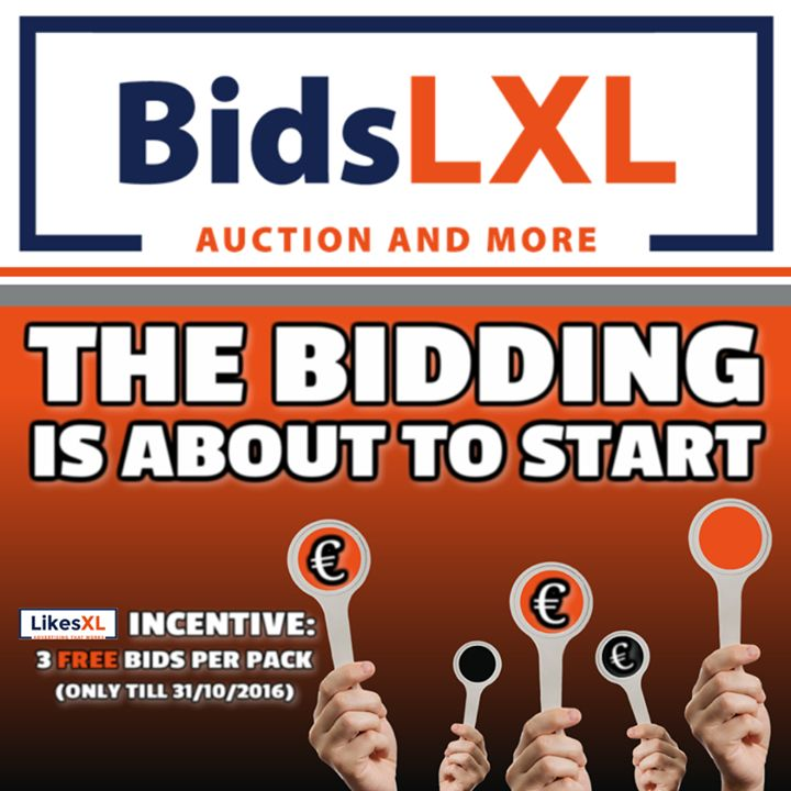 Auction Website BidsLXL  Registration Start  Dont miss this special moment to prepare yourself for the deals of your life! Bid on Lifestyle & Luxury Products and buy for a low price you hadnt seen before!  How to register: Go to your LikesXL website Login klick on BidsLXL complete the registration and go to  Learn how BidsLXL works BidsLXL is an online auction platform where every day a number of new brands and luxury items such as cars computers gold silver televisions laptops smart phones…
