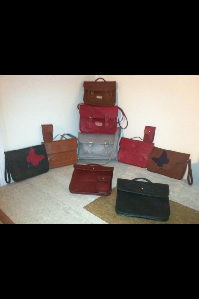 Handmade leather bags x