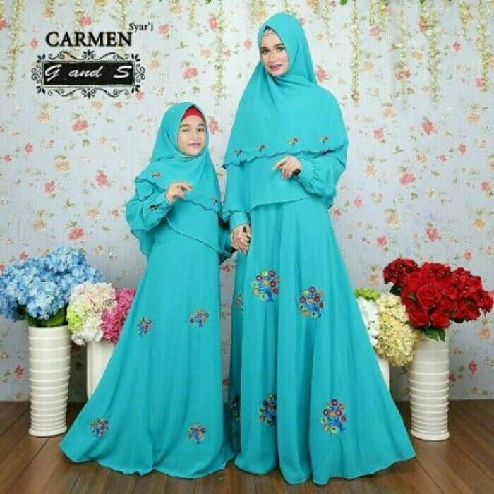 Nm Carmen momkid, Bahan ceruty full furing bordir asli. Uk ibu Fit to L, LD 98. Uk anak 5-7th (tergantung anak), rp.229rb  Informasi dan pemesanan hubungi kami SMS/WA 08129936504 atau www.ummigallery.com  Happy shopping   #jilbab #jilbabbaru #jilbabpesta #jilbabmodern #jilbabsyari #jilbabmurah #jilbabonline #hijab #Kerudung #jilbabinstan #Khimar #jilbabterbaru #jilbab2017 #jilbabkeren #jilbabmodis #bajumuslim #gamis #syari #maxidress #maxi #atasanwanita #atasanmuslim #bajuanak #gamisanak